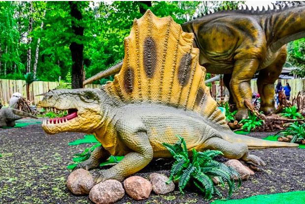 ?Выставка динозавров «Тайны мира» в парке «Сокольники» - слайд 1