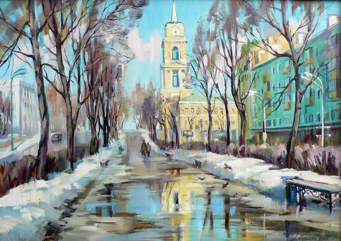 Весна в Москве начнется аномально теплой погодой
