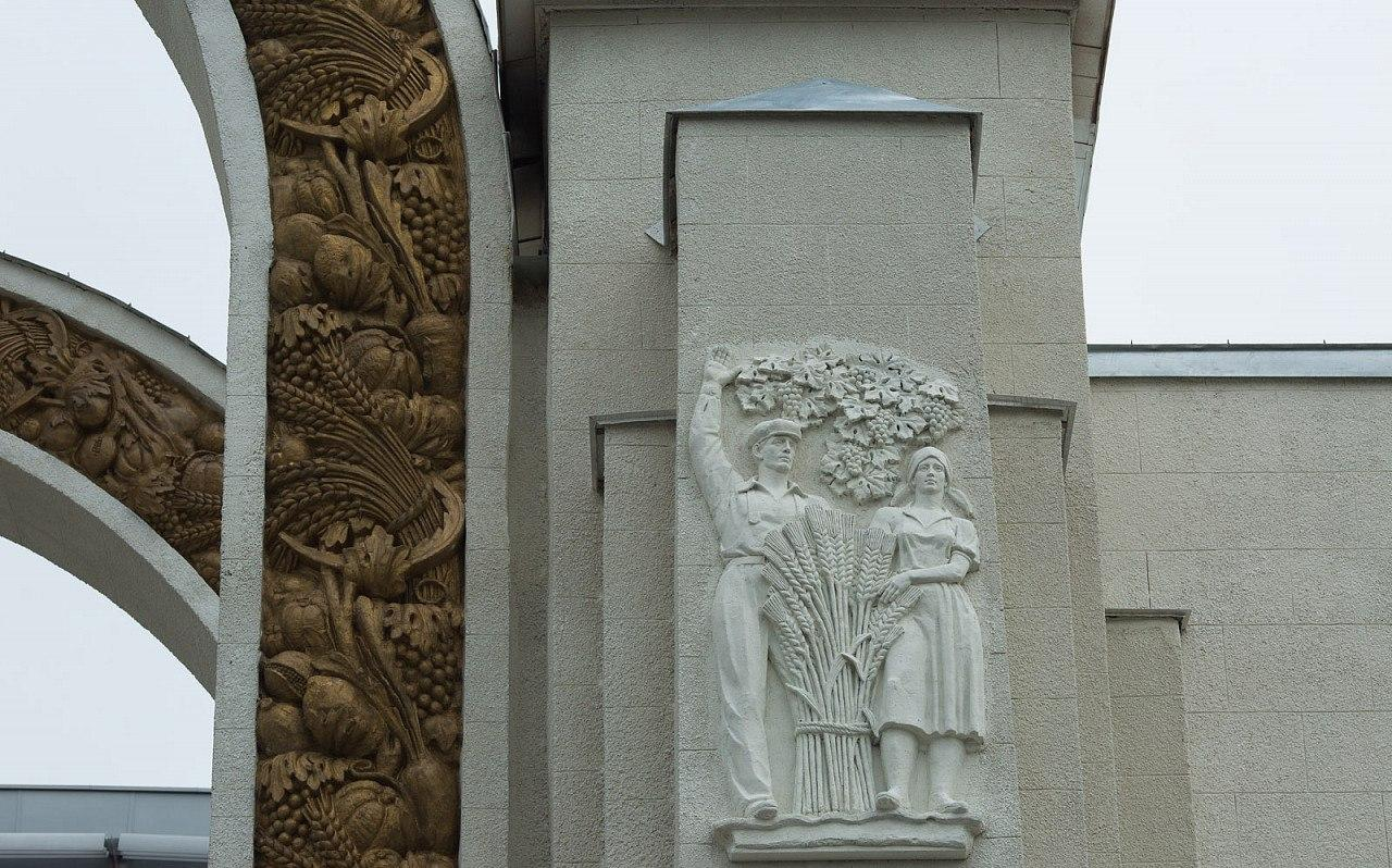 На ВДНХ после реставрации открылась арка Северного входа