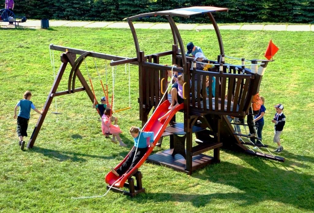 Детские канатные конструкции - какие?