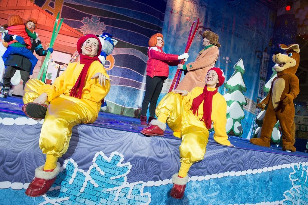 Новогоднее шоу «Ну, погоди! Поймай звезду»
