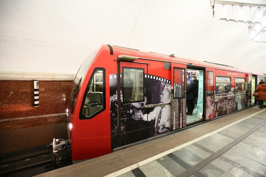 В московском метро запустят новый тематический поезд