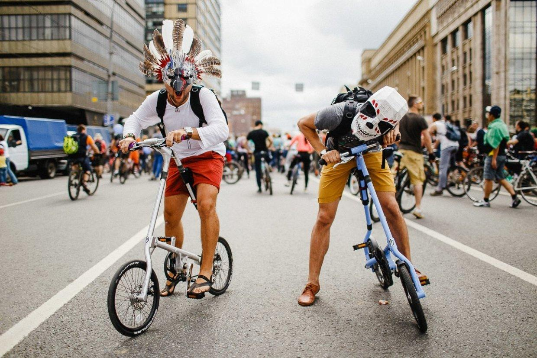 Фестиваль альтернативного транспорта «Московский трансформер»