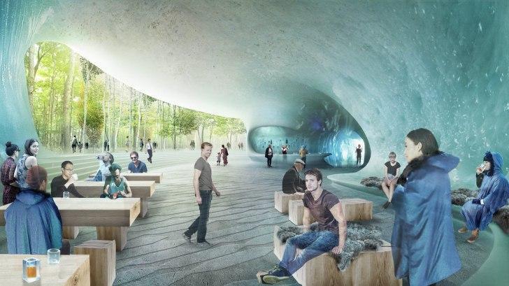 """Ледяная пещера откроется в """"Зарядье"""" в конце года"""