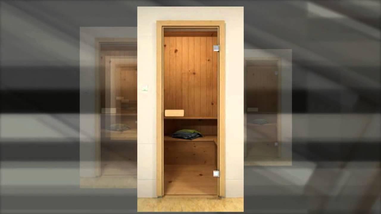 Двери для бани: критерии выбора и особенности