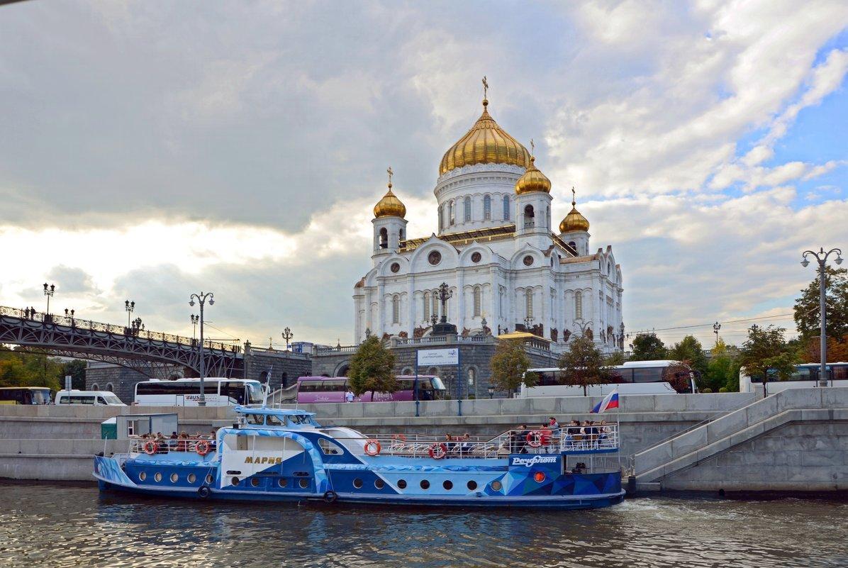 Москва с борта теплохода