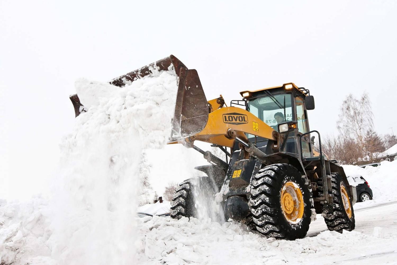 Вывоз снега: что необходимо знать