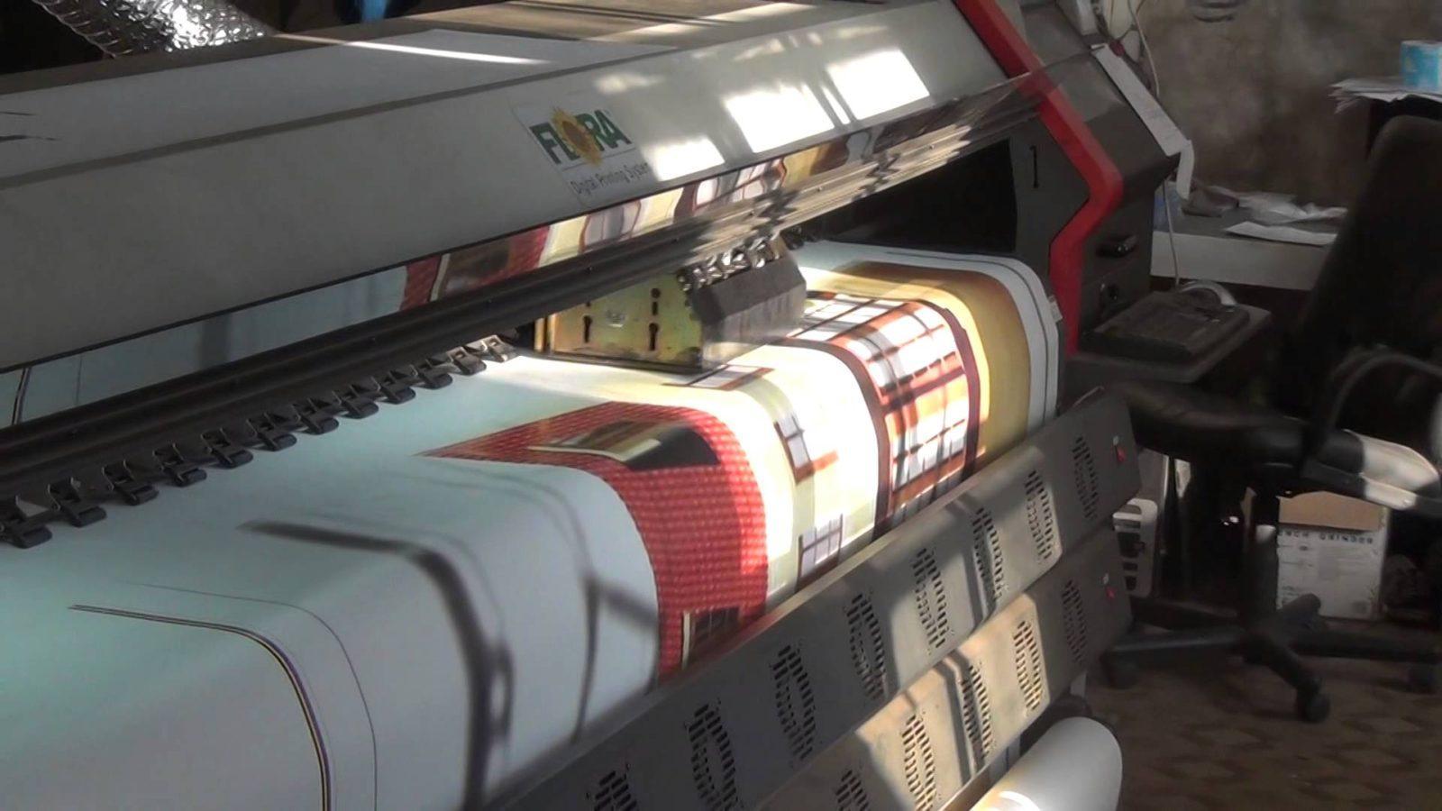 Широкоформатная печать на баннерной ткани