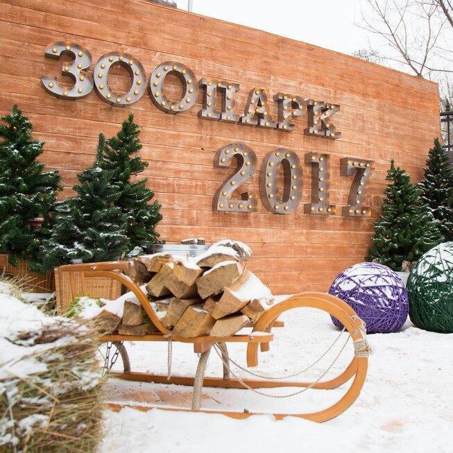 Новый год в Московском зоопарке