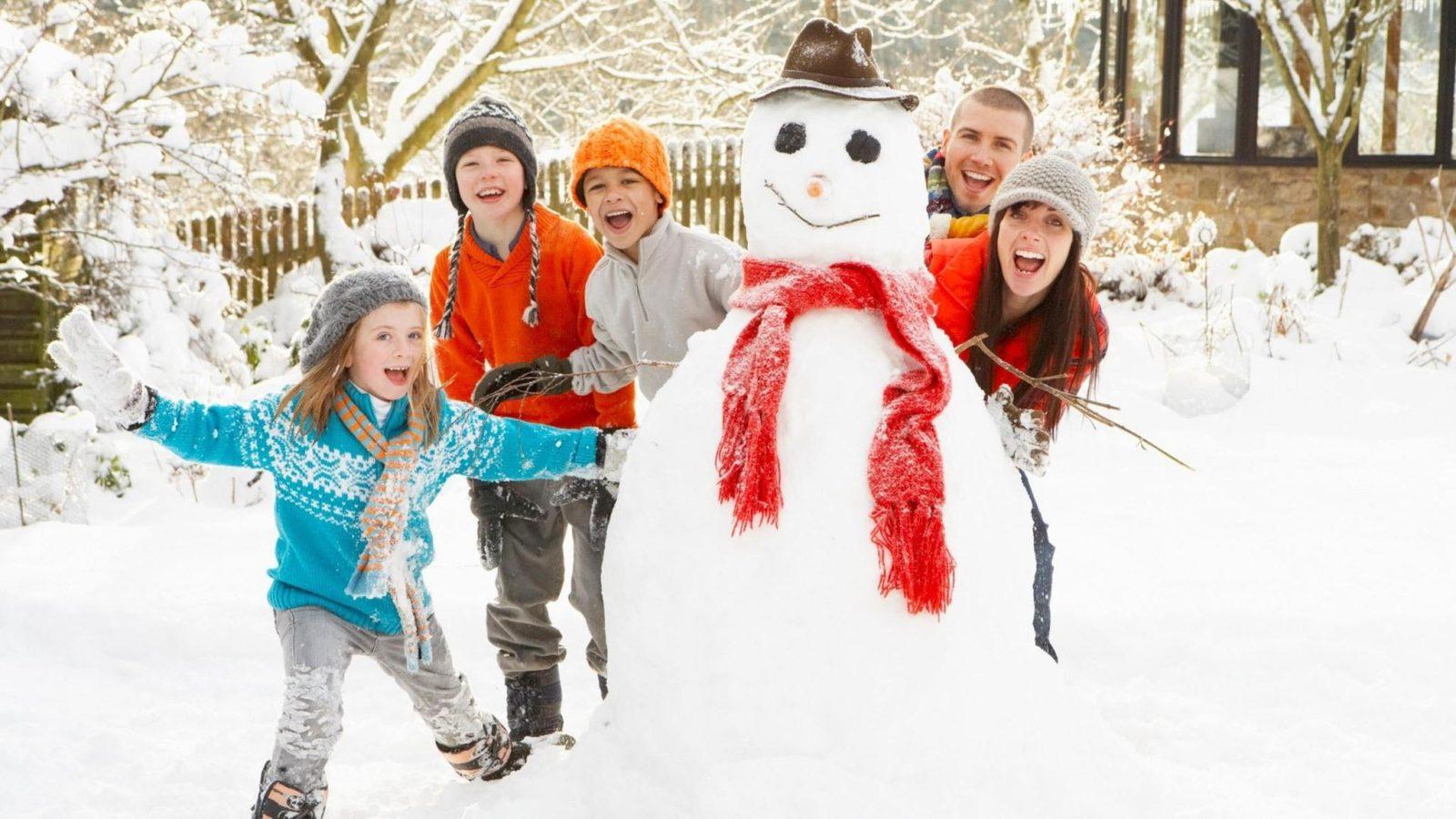 Как активно и полезно провести новогодние каникулы
