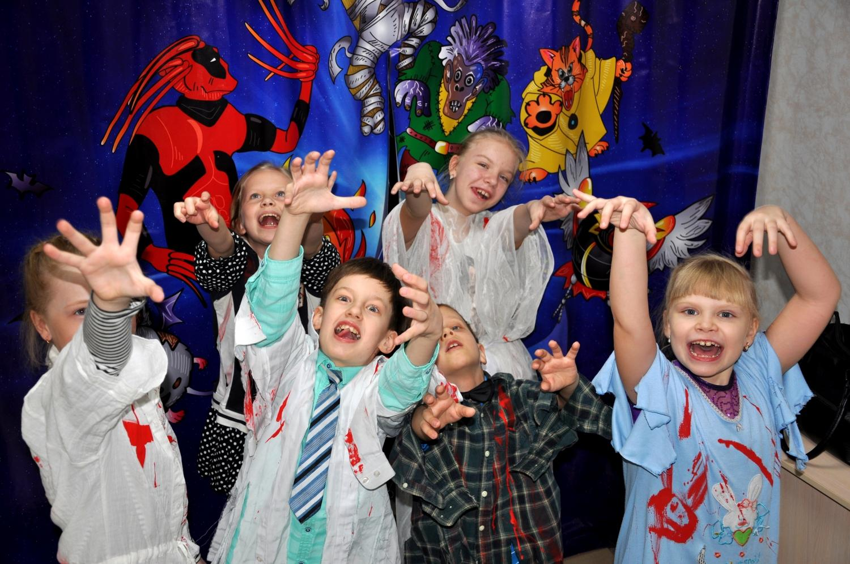 При организации детского праздника