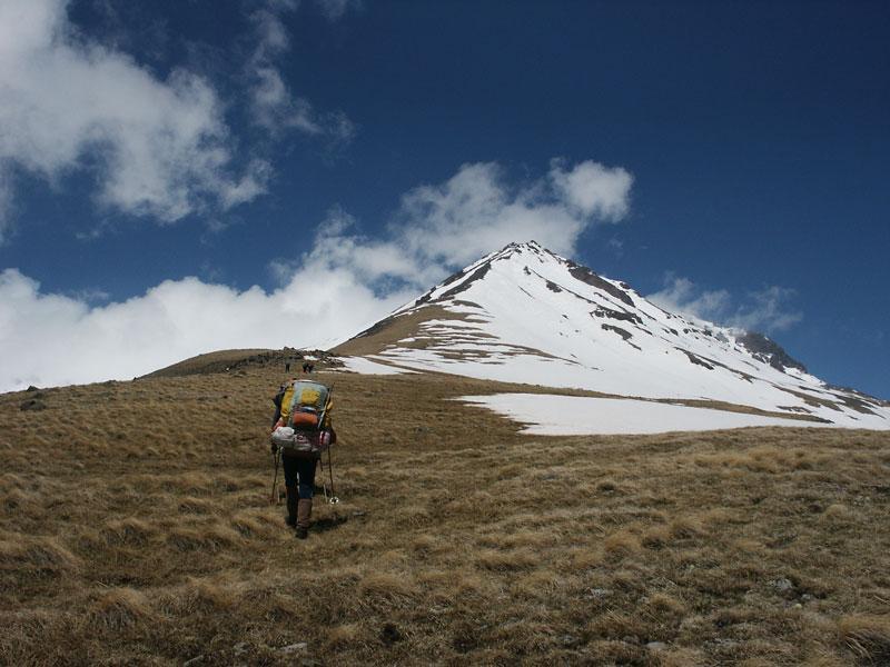 Гора Арагац в Армении