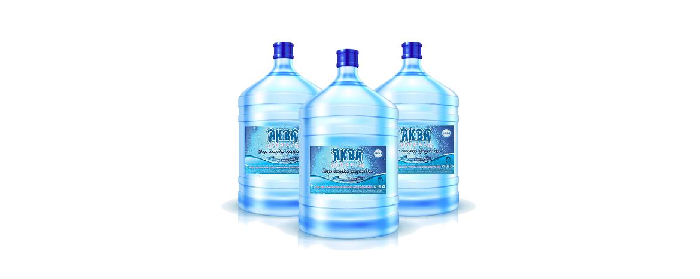"""Питьевая вода """"Аква Премиум"""" с бесплатной доставкой в Москве"""