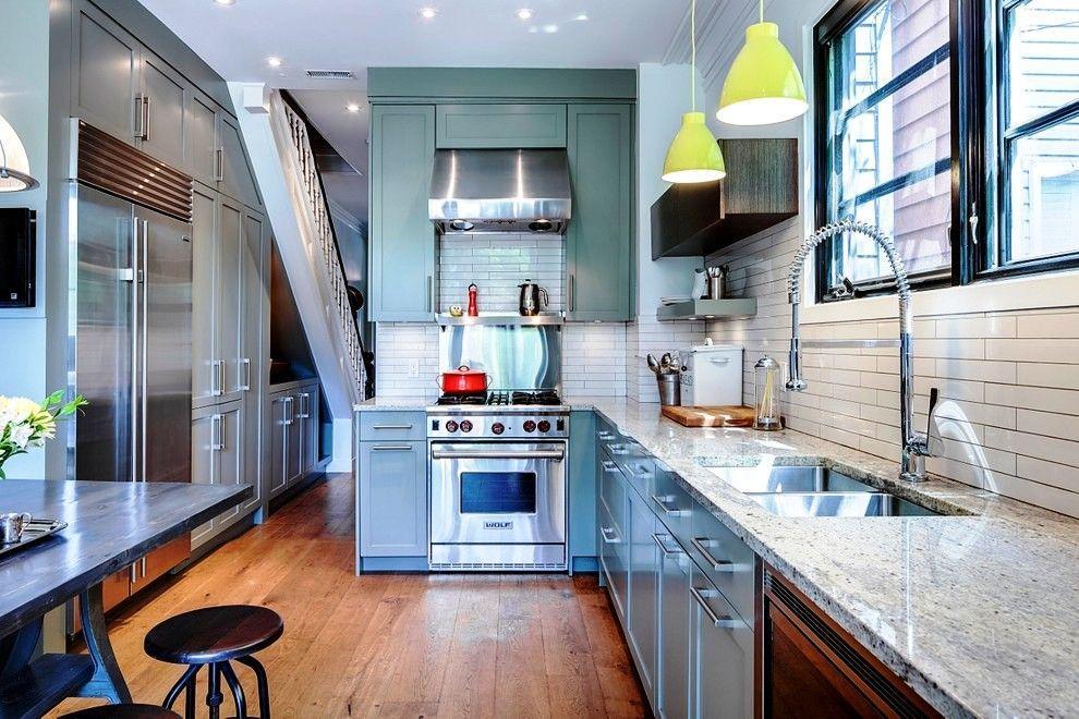 Как расставить мебель на кухне?