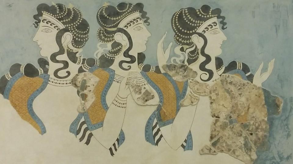 фреска-женщины-