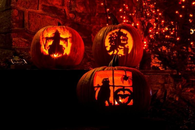 Как сделать из тыквы «светильник Джека» к Хэллоуину