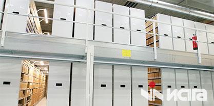 Мобильные архивные стеллажи для архива