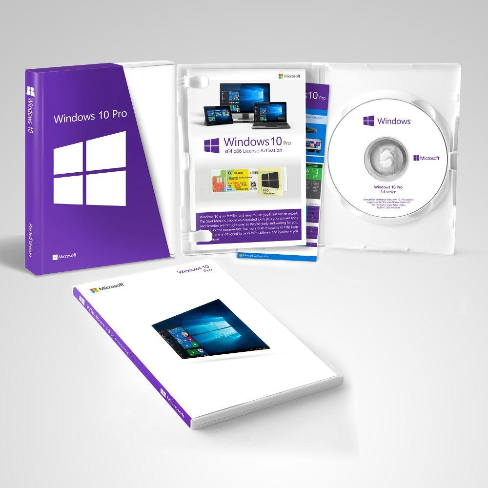 Купить Microsoft Windows 10 Professional BOX – лицензия