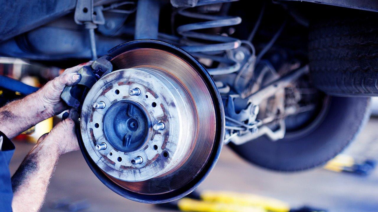 Составные элементы тормозной системы автомобиля