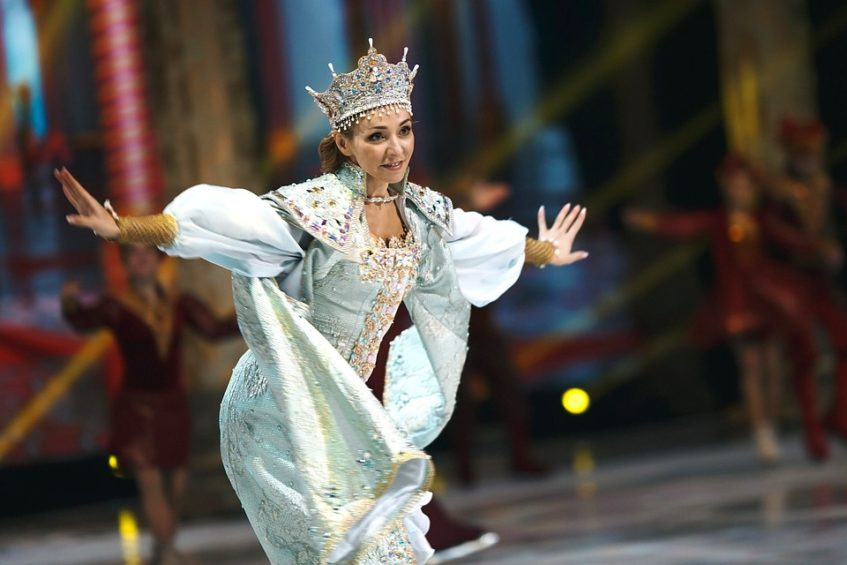 Татьяна Навка представит свою ледовую постановку