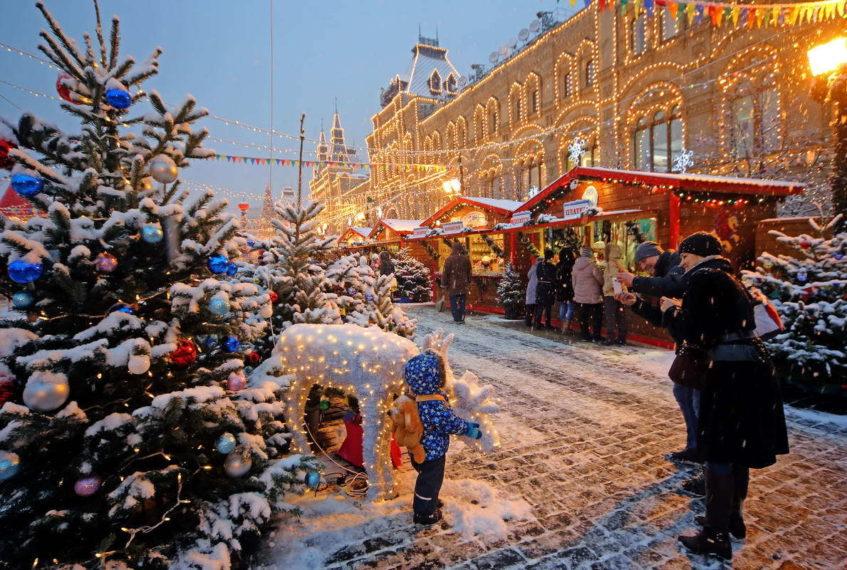 Рождественский праздник в ГУМ