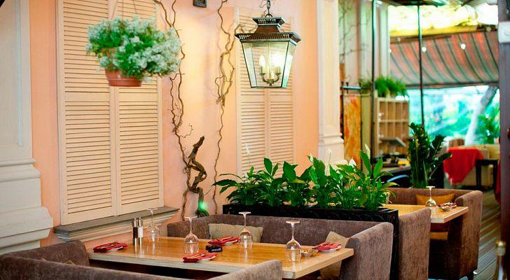 Ресторан Villa Rosa / Вилла Роза