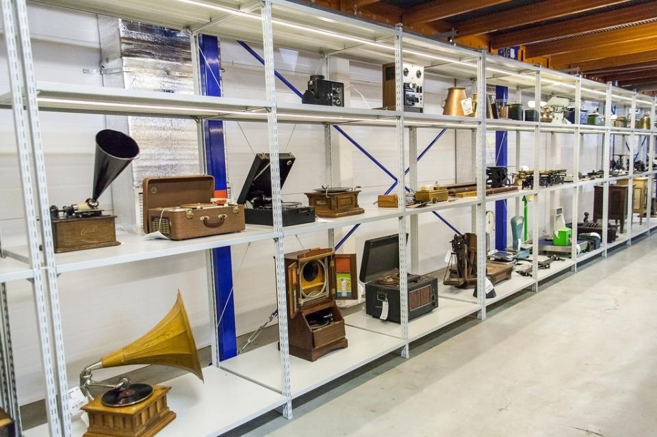 Открытые фонды Политехнического музея