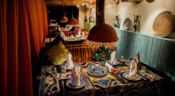 Ресторан Урюк Чайхана Lounge Bar (Цветной бульвар)