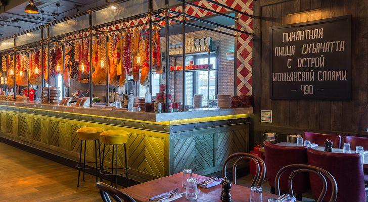 Ресторан Jamie`s Italian / Джеймис Италиан