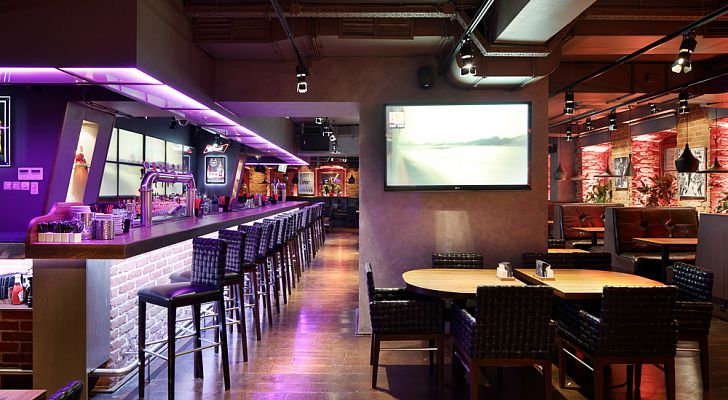 Ресторан Bar BQ Cafe / Бар Би Кью Кафе (Пятницкая)