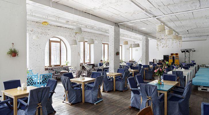 Ресторан Море внутри