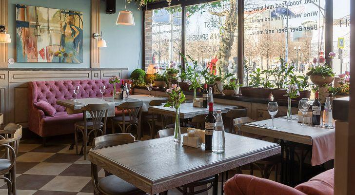 Ресторан Terra&Mare Rome-Barcelona / Терра&Маре Рома-Барселона